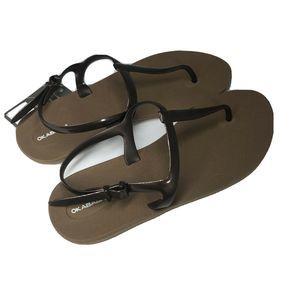 Okabashi Comfort Thong Flip Flop T-Strap Sandal